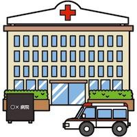大きな病院のナースとして働く